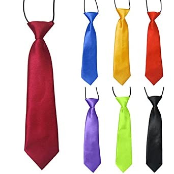 145 REF corbata NIÑO Y NIÑA, SE ENVIA 1 PURPURA Y 1 AMARILLA 25 ...