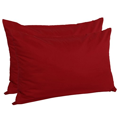 uxcell Zippered Queen Pillow Cases Pillowcases Covers Protec