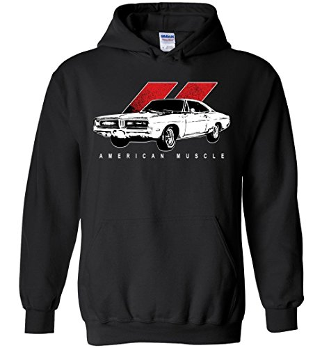 69 Dodge Charger R/T RT Muscle Car Mopar Hoodie Sweatshirt