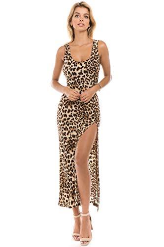 Leopard Print Maxi Dress - 7