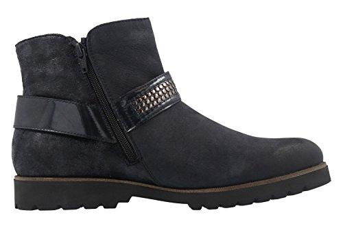 Remonte Damen Boots - Blau Schuhe in Übergrößen Blau