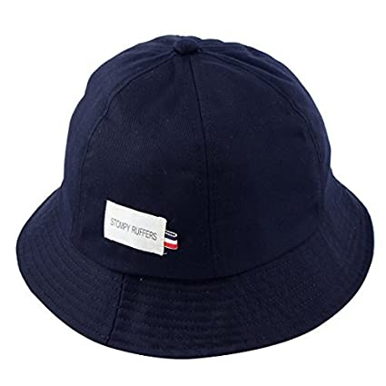 Image Unavailable. Image not available for. Color  DealMux Fisherman Cotton  Blends Climbing Travelling Wide Brim Sun Protective Bucket Summer Cap ... 69f2011680a9