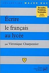 Écrire le français au lycée