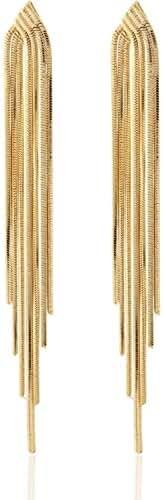 Chain Tassel Earrings by Lovey Lovey