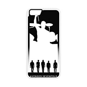 Avenged Sevenfold iPhone 6 Plus 5.5 Inch Cell Phone Case White PQN6053055369350