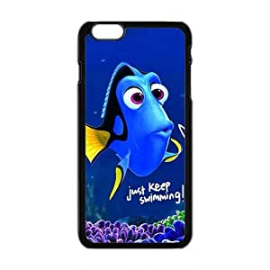 QQQO Lovely crystal blue fish Cell Phone Case for Iphone 6 Plus Kimberly Kurzendoerfer