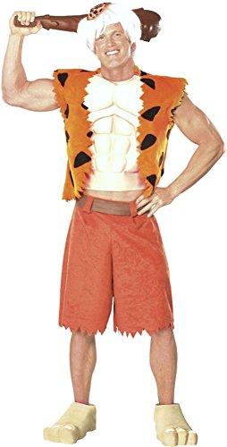 Bamm Bamm Halloween Costumes (Adult Bamm Bamm Adult Mens Costume)