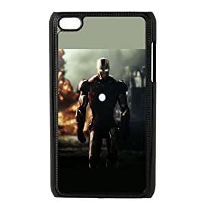 iPod Touch 4 Case Black Superhero Captain America, Spider Man, Iron Man, Wolverine, ant man, Green Arrow, Batman, Joker Logo 49 JNR2210063