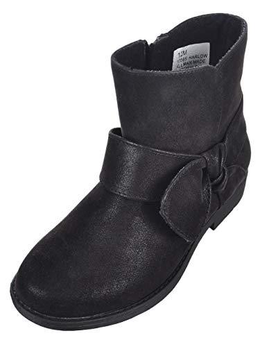 Rachel Girls' Harlow Boots - Black, 3 Youth