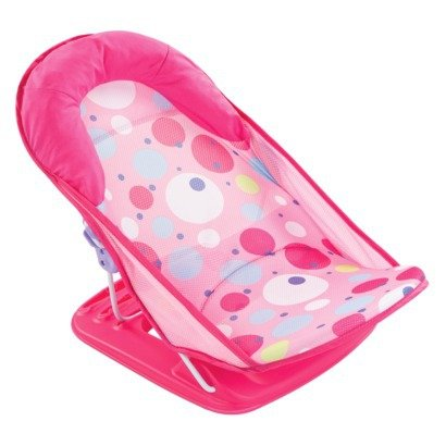 012914185353 - Summer Infant Deluxe Baby Girl Bather 3 Position Pink carousel main 0
