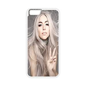 Custom High Quality WUCHAOGUI Phone case Lady Gaga Protective Case For Apple Iphone 6,4.7