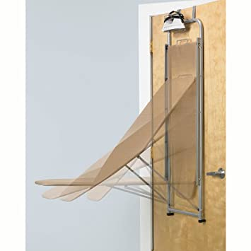 Polder IB 1442 76 Over The Door Ironing Board, Brown
