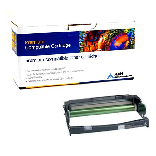 AIM Compatible Replacement for Lexmark E230/240/300/332/340/342 Drum Unit (30000 Page Yield) (12A8402) - Generic