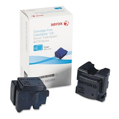Xerox 108R00926 Solid Ink Stick, Cyan, 2/Box - in Retail -