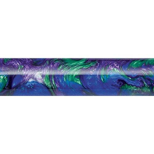 Peacock Deep Blue/Purple Inlace Acrylester Pen Blank