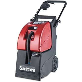 Butler 3-Gallon Carpet Extractor 6092A, 3.5 gal Tank, Red/Black, 35 ft