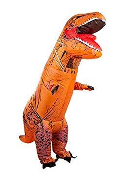 DISBACANAL Disfraz T-Rex Hinchable Adulto: Amazon.es ...