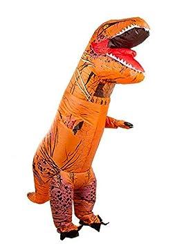 DISBACANAL Disfraz T-Rex Hinchable Adulto: Amazon.es ...