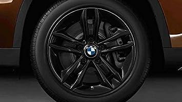 Original BMW X1 E84 Invierno Completo juego de ruedas Estrella radios 319 negro 17 Bridgestone