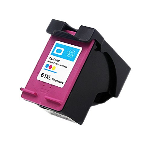 ESTON 61XL Ink Cartridge Replacement For 61 61XL Use for Officejet 8040 (1 Tri-Color) Print Cartridge Access Door