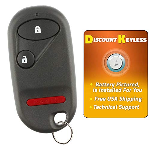 Discount Keyless Replacement Key Fob Car Entry Remote For Honda Civic Pilot NHVWB1U521, NHVWB1U523