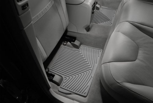 WeatherTech - W50GR - 2002-2011 Jeep Liberty Grey All Weather Floor Mats 2nd Row