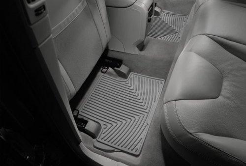 WeatherTech - W20GR - 1986-2002 Mercedes-Benz E-Class Grey All Weather Floor Mats 2nd Row by WeatherTech