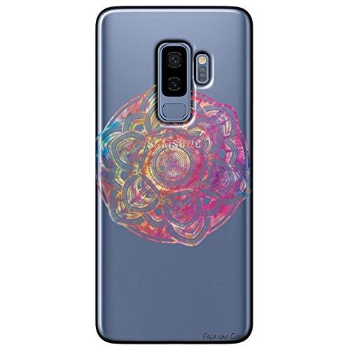 Capa Personalizada Samsung Galaxy S9 Plus G965 - Mandala - TP256