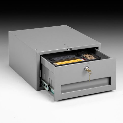 Tennsco WBD-1LMG Stackable Drawer with Installed Cam Lock