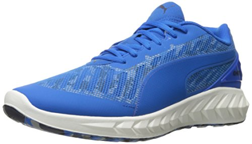 PUMA Men's Ignite Ultimate Cam Running Shoe, Electric Blue Lemonade, 11.5 M US