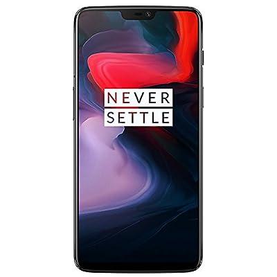 OnePlus 6 A6000 Dual-SIM (128GB Storage | 8GB RAM) Factory Unlocked 4G Smartphone (Midnight Black) - International Version