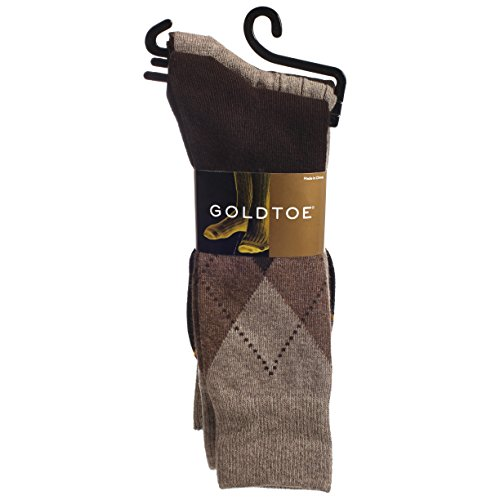 Gold Toe Men's Classic Casual Multi-Pack Socks Bundle