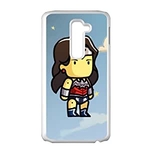 Scribblenauts Unmasked LG G2 Cell Phone Case White gift pjz003-3901241