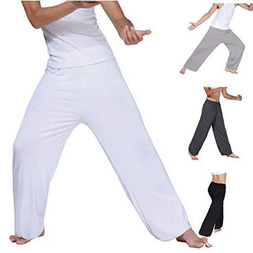 Harem Traspirante Jogging Da Fuxinhe Nero Yoga Elasticità Pantaloni Maschile Sportivi Sciolto wqExx6TH