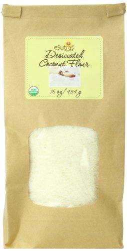 Esutras Organics Desiccated Coconut Flour, 16 Ounce Review