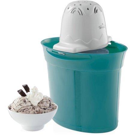 4-Quart Ice Cream Maker Blue