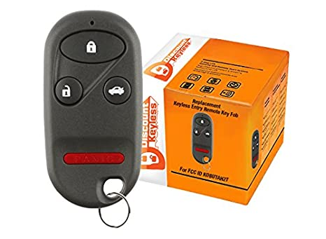 Amazoncom Discount Keyless Replacement Key Fob Car Entry Remote - Acura replacement key