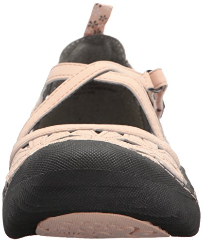 Flat by JBU Jambu Mary Women's Jane Vegan Blossom Blush aHRz0nR
