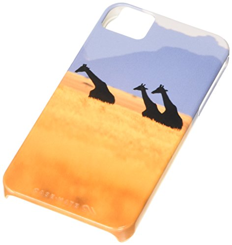 Case-Mate Barely There National Geographic Coque pour Apple iPhone 4/4S Motif girafes Namibian
