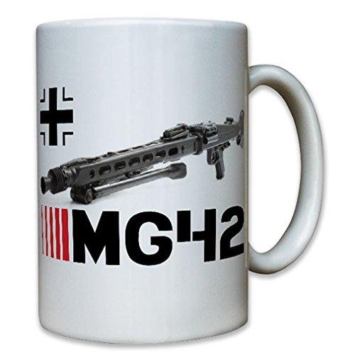 Mg42 weapon bone saw machine gun ammunition automatic fire Germany - Coffee Cup Mug