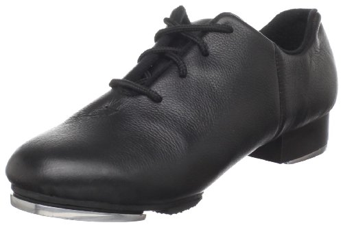 Dance Class Women's JT502 Split-Sole Jazz Tap Shoe Black g3Pcn2ZKq