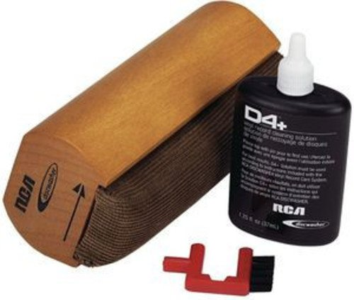 RCA RD-1006 Discwasher D4 Vinyl Record Cleaning Kit Accessory Consumer Accessories Electronics Home Audio & Theater