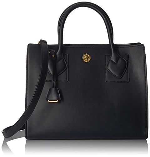 anne-klein-hillary-medium-square-satchel-black-dolphin