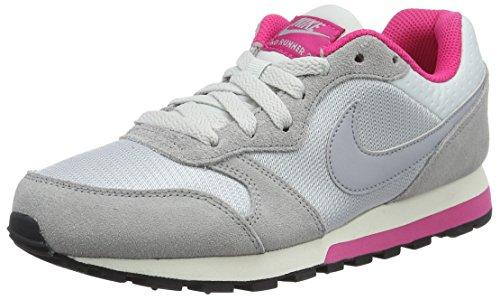 sail Platinum pure Gris Pink Nike vivid Zapatillas Mujer 749869 Grey Para Wolf n6W74PH