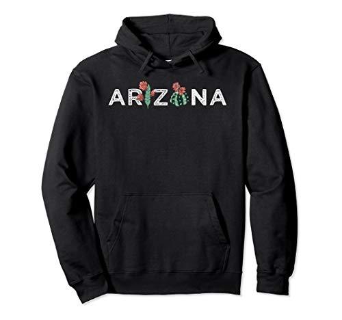 Arizona State Gift Souvenir   Arizona Cactus Pullover Hoodie (Grand National Sweater)
