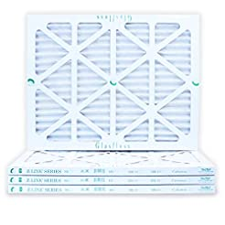 16x20x1 Air Filter 4-Pack, Pleated MERV ...