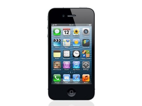 Apple iPhone 4S, GSM Unlocked, 8GB - Black (Renewed)