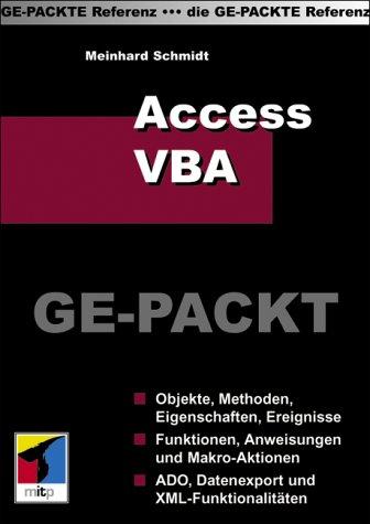Access/VBA GE-PACKT