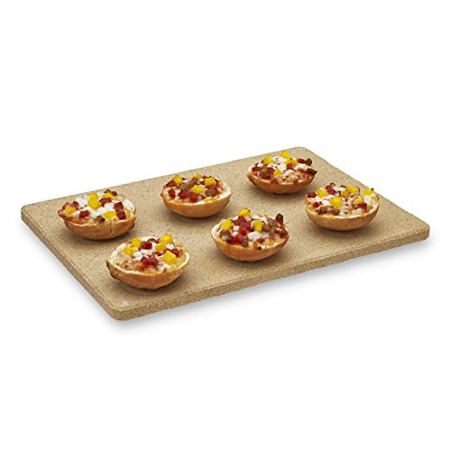 Kitchen Supply Old Stone Oven Toaster Oven Pizza Stone 7-Inch by 10-Inch by Honey-Can-Do (Image #1)