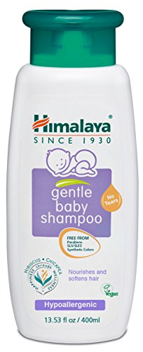 Himalaya Gentle Baby Shampoo, Free from SLS, Parabens & Synthetic Colors 13.53oz/400ml